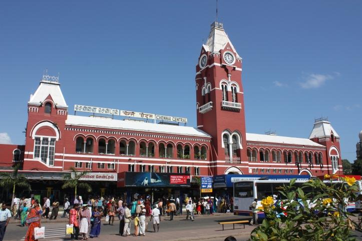 Chennai, train station