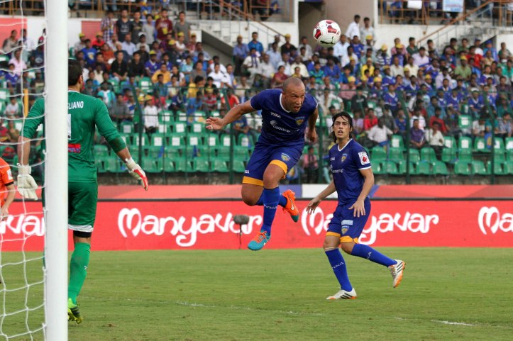 Mikael Sylvester of Chennaiyin FC Photo by: Deepak Malik/ ISL/ SPORTZPICS
